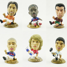 prostars World Cup model FIGO NEDVED SAH SAVIOLA VAN NISTELROOY TREZEGUET best football Doll