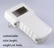 One pcs 238*134*58mm  Handheld instrument shell plastic project box electronic cases abs DIY control enclosure