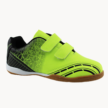 Professional kids soccer boy outdoor breathable sneakers Original boy Hook & Loop football shoes kid athletics shoes