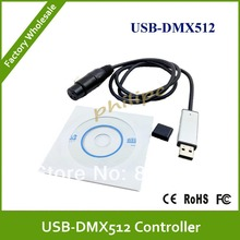 DMX512 USB Interface Adapter to DMX512 PC Stage Lighting Controller