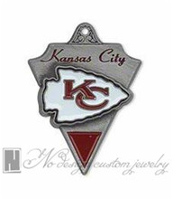 Kansas City super bowl american football world championship contenders Chiefs team charms chains dangle pendants ON SALE NE0964