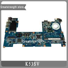 For HP laptop MINI 210 motherboard Intel 598011-001 DDR2 100% tested free shipping
