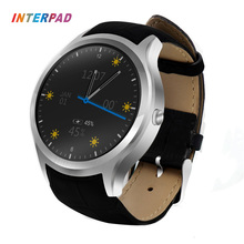 Interpad High Tech GPS Smart Watch Quad Core 3G Phone Smartwatch MTK6580 1.3GHZ Bluetooth Wearable Devices For Men And Women