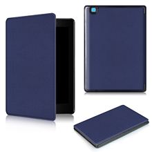 "Magnetic PU Leather Case For Kobo Aura One 7.8 inch Ereader Ebook Case for Kobo Aura one 7.8"" Protective Case+Film+Stylus Pen(China)"