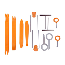 Removal Tool tire repair kit Auto car tyre repair kit Pry Screw Cap Panel Repair Kit Set Radio Door Trim Dash Remover Tools