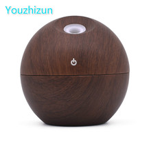 Woodgrain Essential Oil Diffuser Aroma Diffuser Ultrasonic Aromatherapy Humidifier Mist Maker Aromatherapy Air Purif