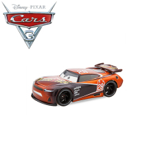 1:55 Original Disney Pixar Cars 3 Alloy Car Models Speed Challenge No. 28 TIM TREADLESS Car Toy Best Birthday Christmas Gift