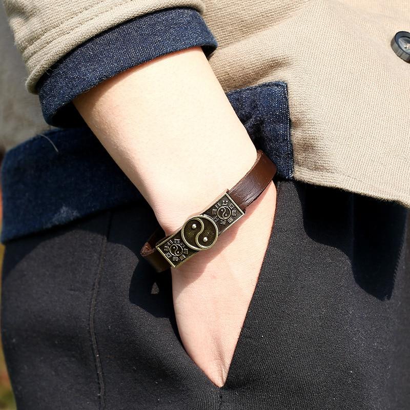 Bracelet yin yang pour homme   OkO-OkO