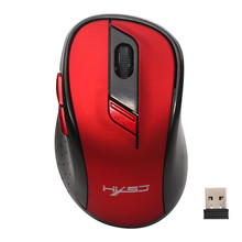 Advanced 2017 New Wireless Gaming Mouse Mouse sem fio2400 DPI 6Button Optical USB Mice 2017 wireless Game mouse tablets For PC(China)