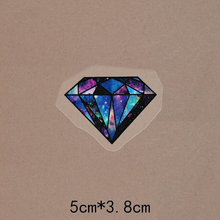 Wholesale Heat Transfer Diamond Iron On Patches DIY Clothes T-shirt Brand Logo Patch Applied shose(China)
