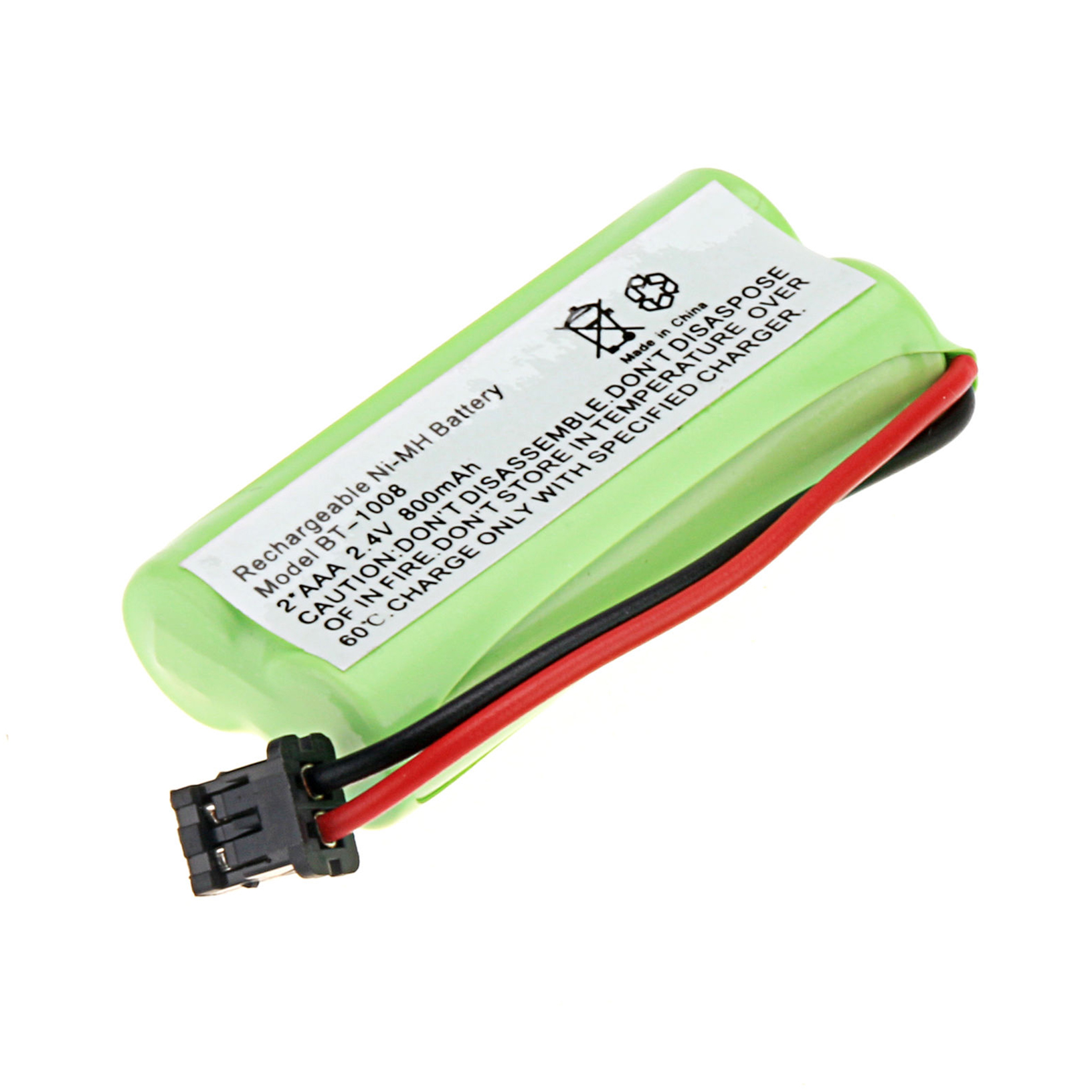 2 AAA 2 AA 1800mAh 3000mAh Ni-MH Batterie rechargeable Lampe Solaire MP3 jaune