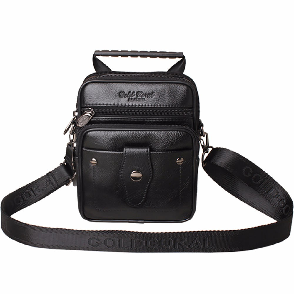 Real Cowhide Genuine Leather Messenger Sling Shoulder Bag Men Cowhide Cross Body Bags Brand Retro Mini Tote Handbag High Quality<br><br>Aliexpress