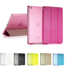 Ultra Slim Smart Flip Stand PU Leather Cover Case For Apple iPad Mini 1 2 Retina Display Wake Up/Sleep Function(China)