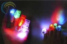 200pcs/lot led finger light 4 color laser finger lamp light for party. birthday,Chistmas decoration toy Free shipping TY01-200(China)