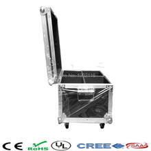 High quality A flight case for 4pcs LED Beam 7x12W/36x3W/12X12W led moving head light  factory directly sale Free&Fast Shipping