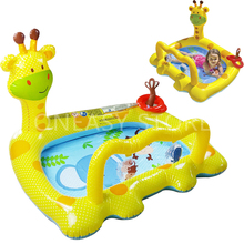 Multi-function Outdoor Inflatable Swimming Water Pool Home Use Children Cartoon Game Playground Piscina Bebe Zwembad A023