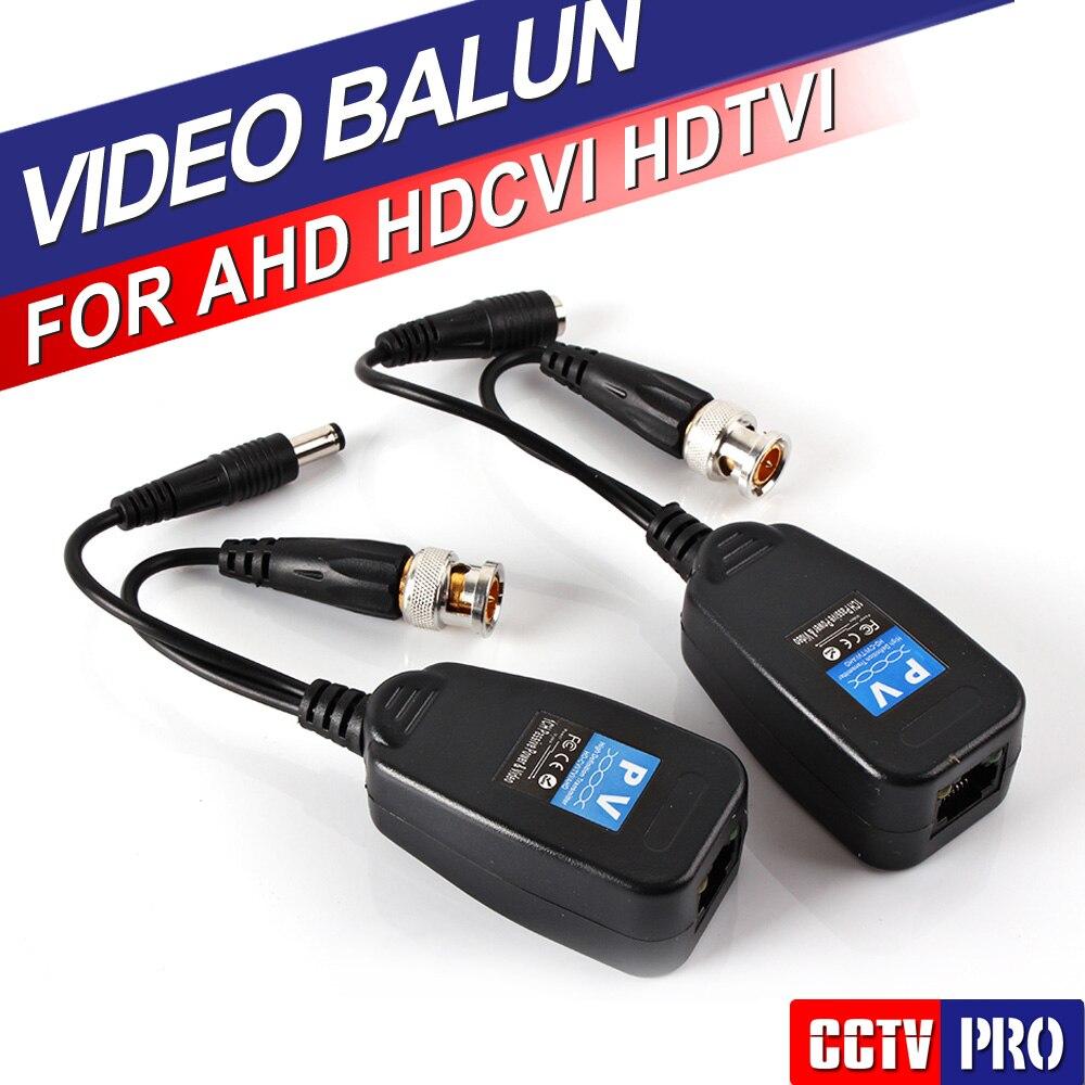 1CH Passive Balun RJ45 CCTV Balun Video Balun Transceiver Supply Power For HDCVI HDTVI AHD Analog High Definition Camera<br><br>Aliexpress