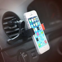 Universal car holder for lg g3 iphone 6s plus mobile cell phone 360 degrees flexible air vent mount holder soporte movil car GPS(China)