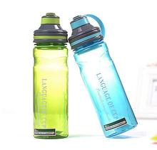 High Quality 600ml/1000ml Portable Plastic Water Bottle With Tea Infuser Outdoor Bike Sport Shaker Bottles BPA Free(China)