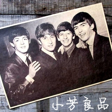 Adesivos De Parede Beatles Nostalgia Old Posters Advertising Bar Complex Decorative Painting  Vintage Greeting Card 42*30cm