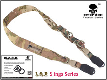 EMERSON L.Q.E One+Two Point Slings LQE Hunting combat tactical gear airsoft BD8490B multicam(China)