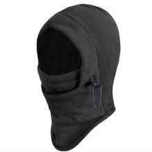 1PC Men Winter Warm Cap Men Hat Thicken Full face Mask Windproof Cap Ear Scarf Beanies Outdoors Cycling Protect Mask(China)