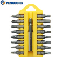 PENGGONG Magnetic Screwdriver Bits Phillips Torx Microtech Screwdriver Set Screw Driver S2 Bit Set Multifunction Hand Tool Set