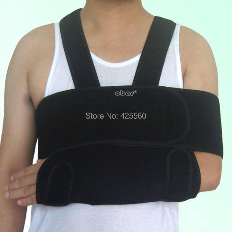Universal Medical Shoulder Arm Sling Swathe Brace Reinforced Immobilizer Broken Arm Fracture Shoulder Dislocation<br>