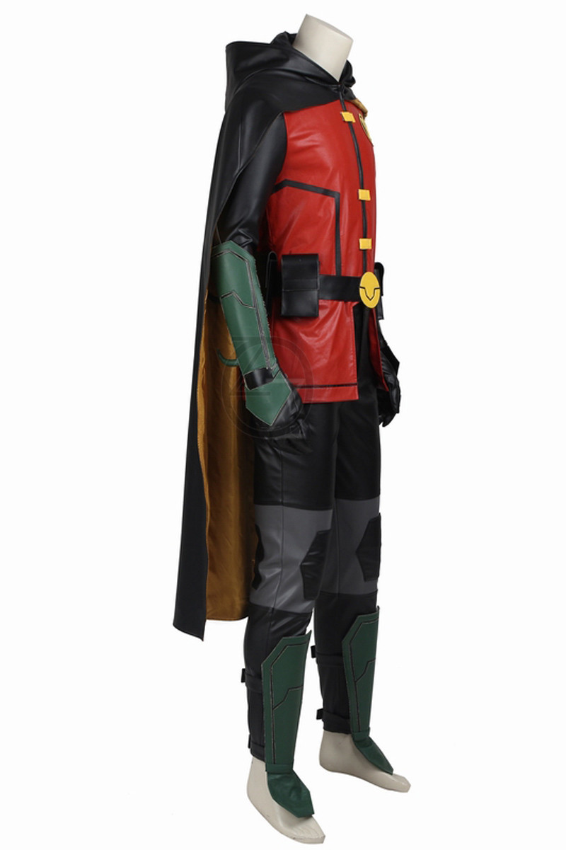 New-Titans-Justice-League-vs-Teen-Titans-Robin-COSPLAY-Costume-Any-Size-Custom-Made-High-Quality (3)