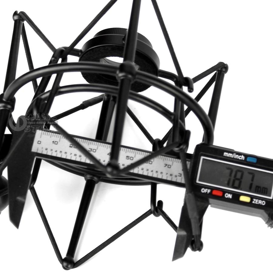 Shockproof Metal Spider Microphone 4