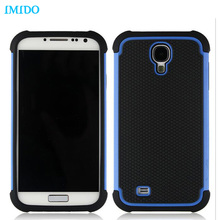 IMIDO Hybrid Football Stereo Case For Samsung S6 edge S7 S7edge Note3 note4 note5 Soft Armor Hard Plastic Luxury Cover Two Tone