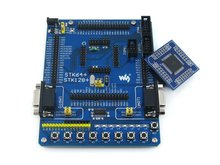 module ATmega128 ATmega128A ATMEL AVR Evaluation Development Board Kit + 2pcs ATmega128A-AU Core Board