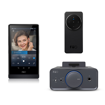 FiiO Bundle kits Music player X7 with AM2+Dock station K5+Bluetooth Remote controller RM1
