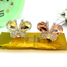 ANZULWANG Car air conditioning perfume, beautiful diamond butterfly shape, car interior, air freshener, wholesale and retail(China)