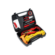 Vehicle emergency kit First aid kit tow rope Live in battle line Safety hammer Tire press pen Maintenance tools(China)