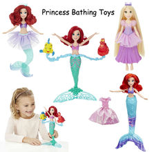 Fashion Action Figure Princess The Little Mermaid Water Show Ariel Doll(China)