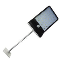 Solar Security Light With Motion Sensor 36 LED Garden Lamp With Aluminum Pole For Outdoor Lighting Solar Dim Street Light(China)