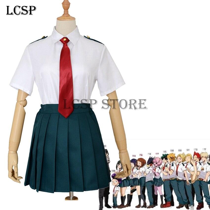 Boku no Hero Academia My Hero Academia Ochako Uraraka Tsuyu Asui Cosplay Costume