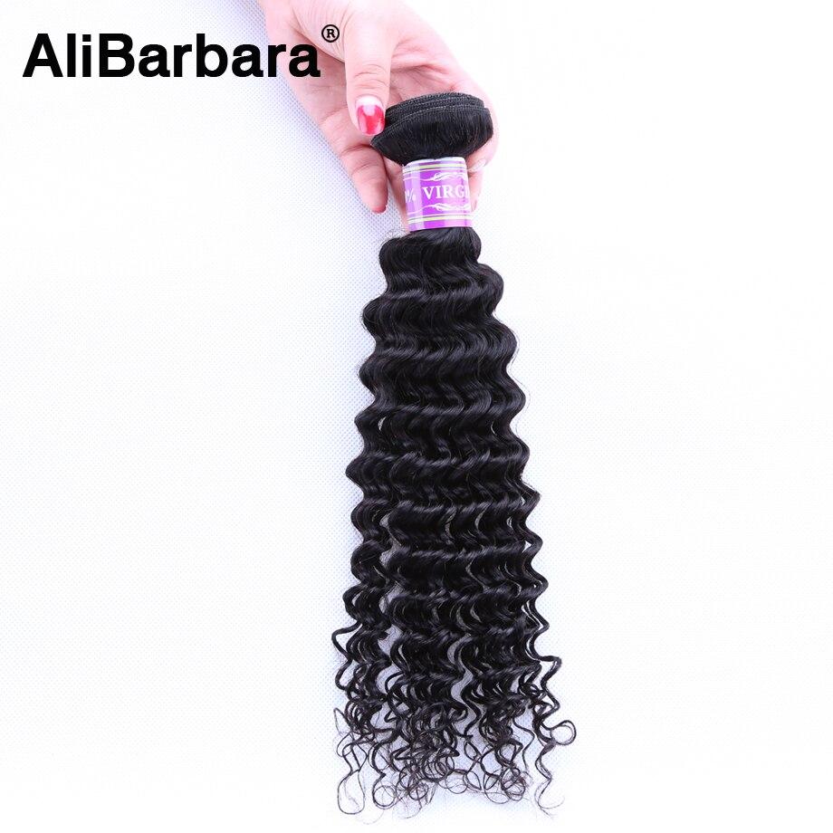 Unprocessed 8A Indian Deep Wave Virgin Hair 1 Bundle Virgin Indian Deep Curly Human Hair Indian Wavy Natural Hair Extension<br><br>Aliexpress