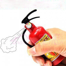 1 Pcs Cute Children Plastic Tricky Little Water Gun Toys Fire Extinguisher Style Squirt Toys