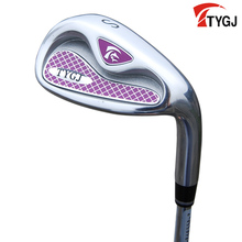 Brand TTYGJ. Single S IRON for women beginner.made for females Siron golf club steel or carbon shaft. golf club #S(China)