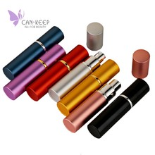 Top Quality 1 Piece 10ml Refillable Portable Mini perfume bottle &Traveler Aluminum Spray Atomizer Empty Parfum Bottle as a Gift