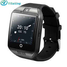 YiSailing Q18 Plus Smart Watch 0.8mp Camera MTK6572A 512MB 4GB Support 3G SIM GPS AGPS WIFI Gravity Android Bluetooth Smartwatch