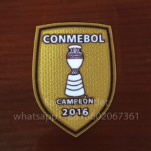 2016 America Champion Chile Copa soccer patch Chile national team Champion patch badge free ship