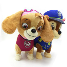 Walking Interactive Toy Dog Barks Electronic Pets Battery Robot Pet Dog Toy Plush Doll Toy Interactive Dog Electronic Toys Pet(China)