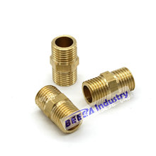 Pipe brass fitting, Male thread, 1/8'', 1/4'', 3/8'', 1/2'', 3/4''