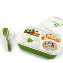 3 Blocks Microwaveable Kids Food Container Soup Cup Disposable Tableware Bento Lancheira Dinnerware Set