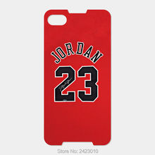 For Blackberry Z30 Z10 Z3 Passport Q30 Q20 Q10 Q5 priv Dtek50 Patterned Cover NBA jersey Michael Jordan No. 23 mobile phone case(China)