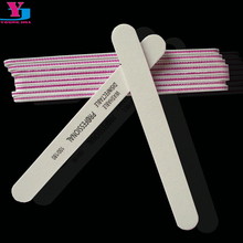 10x Profession White Nail File 100/180 New Design Sanding Files Manicure Nail Tools Cuticle Remover Buffer Nail Art Sets(China)