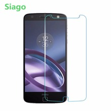 Siago Tempered Glass Screen Protector for Motorola Moto G G2 G3 G4 Plus G4 Play Z Force Z Play G5 Plus X2 X3 9H 2.5D Glass Film